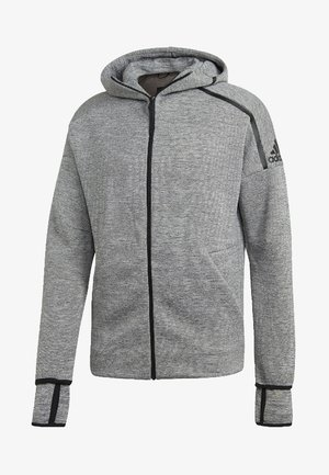 adidas Z.N.E. Fast Release Hoodie - Fleece jacket - grey