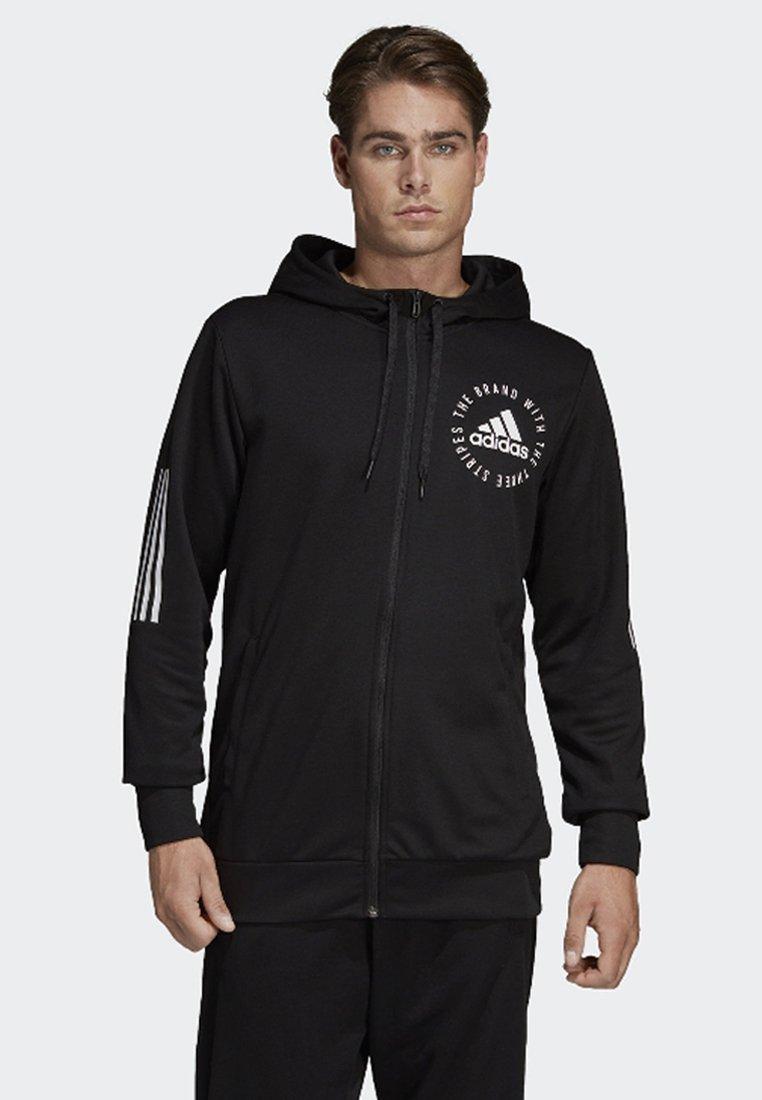 adidas Performance - Sport ID Hoodie - Sweatjacke - black