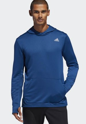 OWN THE RUN HOODIE - Fleece jumper - blue