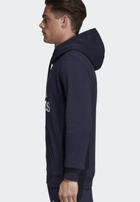 adidas Performance - MUST HAVES BADGE OF SPORT HOODIE - Luvtröja - blue - 2