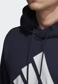 adidas Performance - MUST HAVES BADGE OF SPORT HOODIE - Luvtröja - blue - 3