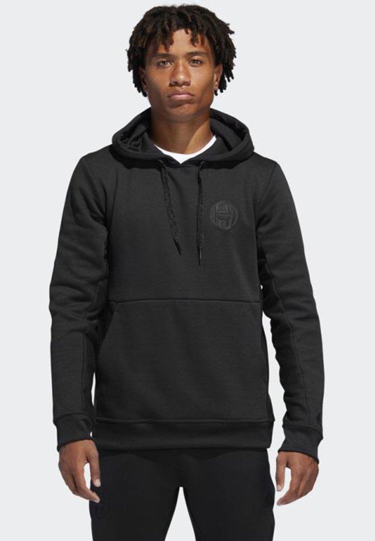 adidas Performance - HARDEN PULLOVER HOODIE - Hoodie - black