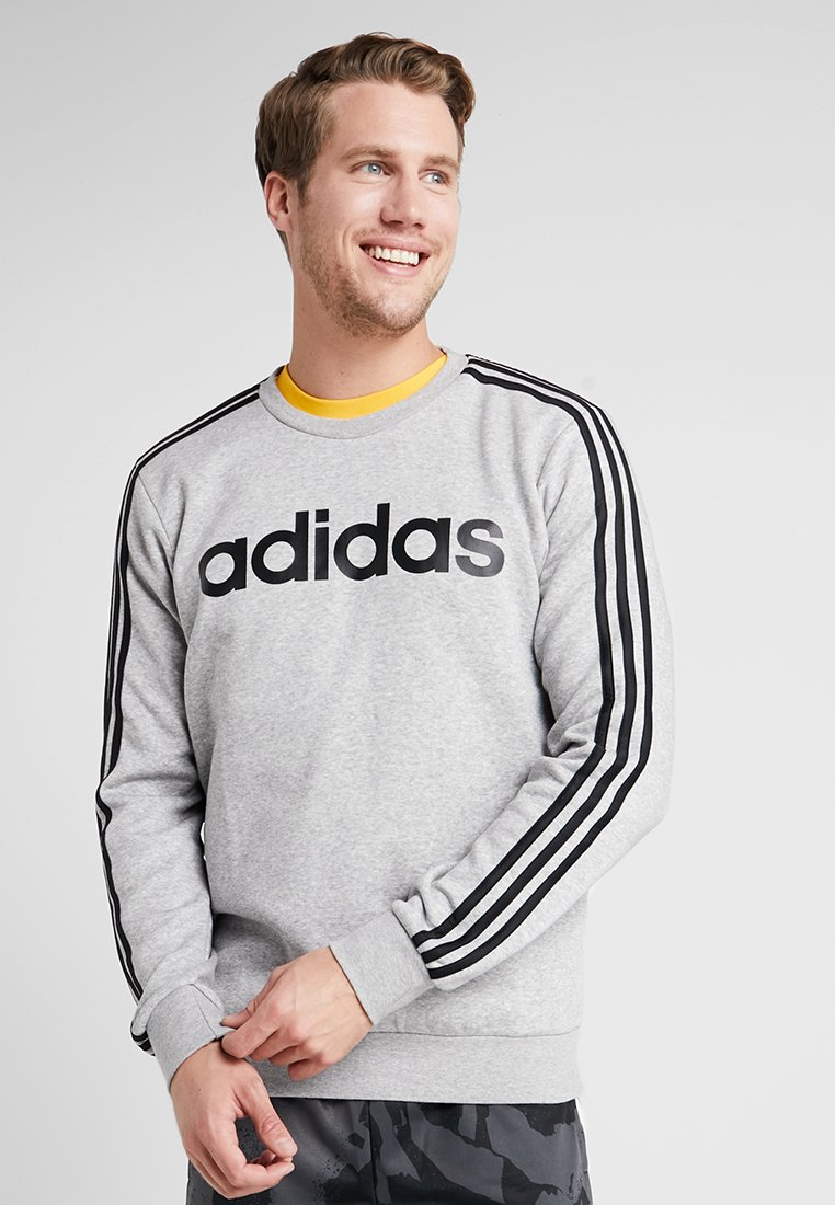 adidas Performance - 3S CREW - Sweatshirt - grey