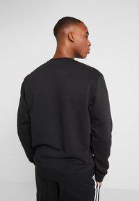 adidas Performance - 3S CREW - Sweatshirt - black/white - 2
