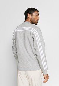 adidas Performance - CREW - Sweatshirt - grey/white - 2