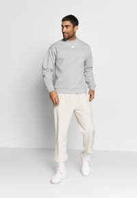 adidas Performance - CREW - Sweatshirt - grey/white - 1