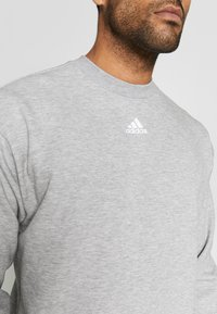 adidas Performance - CREW - Sweatshirt - grey/white - 5