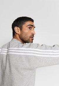 adidas Performance - CREW - Sweatshirt - grey/white - 3