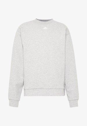 CREW - Mikina - grey/white