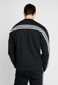 adidas Performance - CREW - Sudadera - black/white - 0