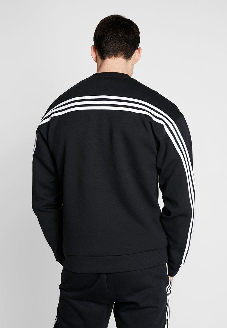 adidas Performance - CREW - Sweatshirt - black/white