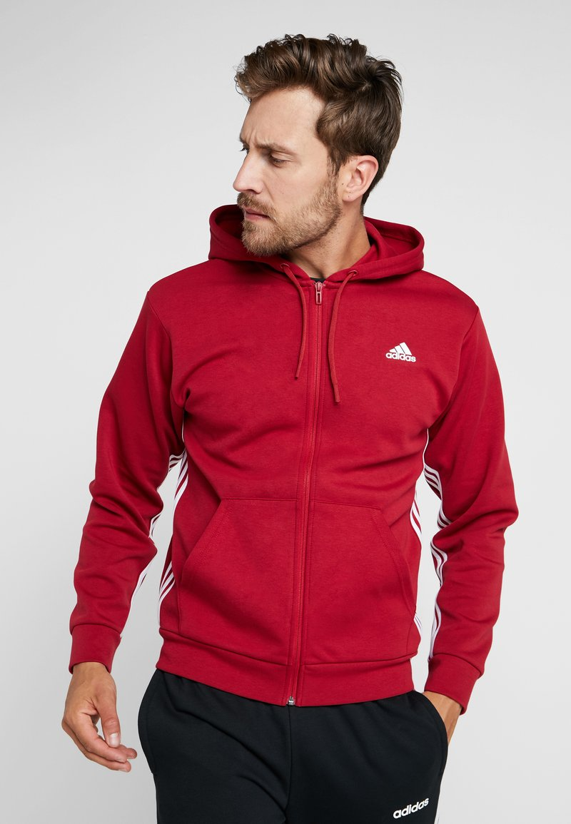adidas Performance - Giacca sportiva - active maroon