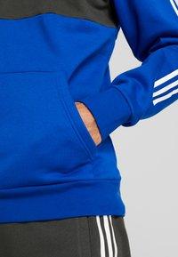 adidas Performance - Mikina skapucí - royal blue - 5