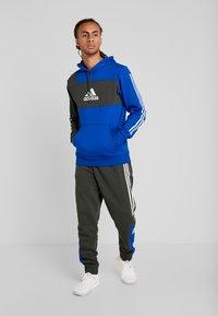 adidas Performance - Mikina skapucí - royal blue - 1