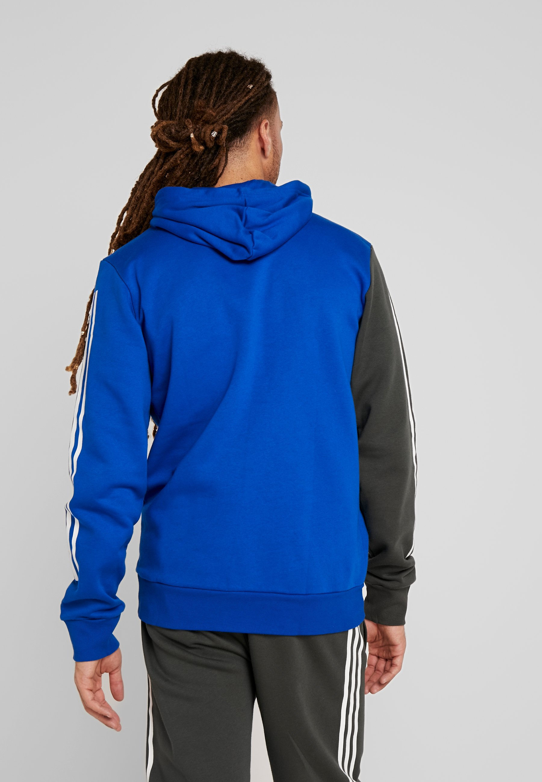 adidas Performance Sweat à capuche royal blue