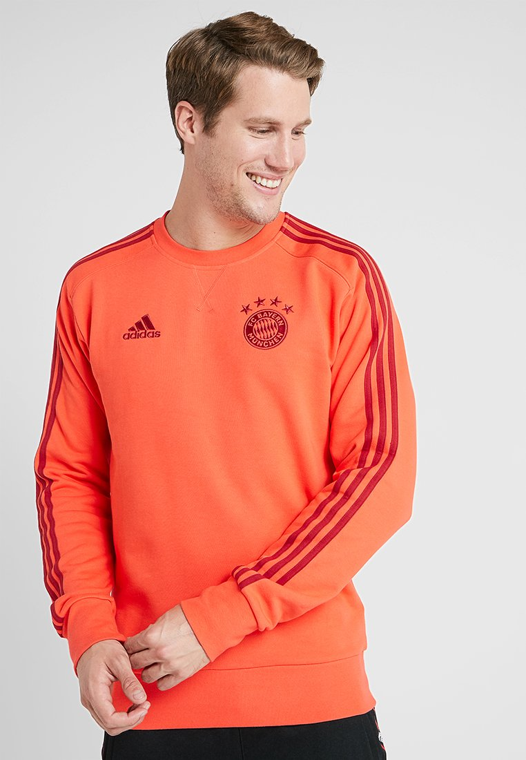 adidas Performance - FC BAYERN MÜNCHEN SWT TOP - Club wear - bright red/active maroon