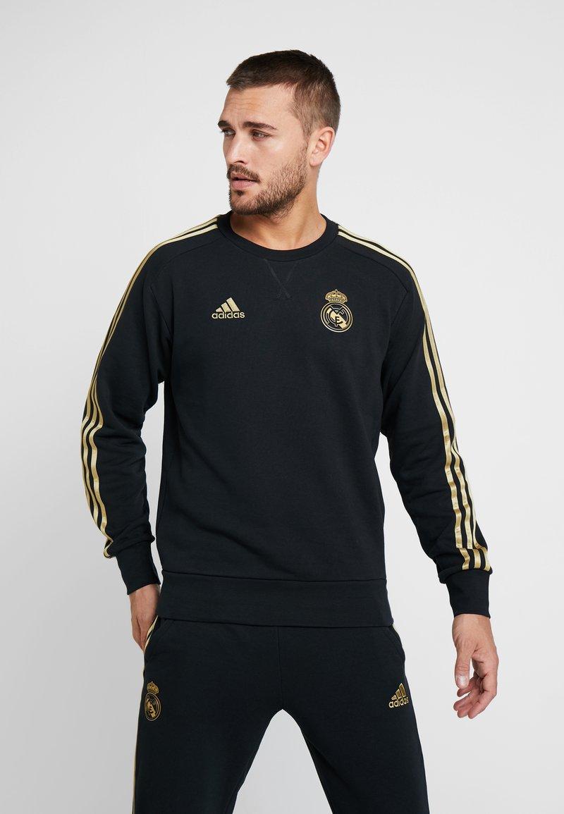 adidas Performance - REAL MADRID SWT TOP - Vereinsmannschaften - black