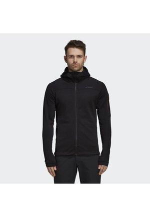 STOCKHORN HOODED JACKET - Fleece jacket - black