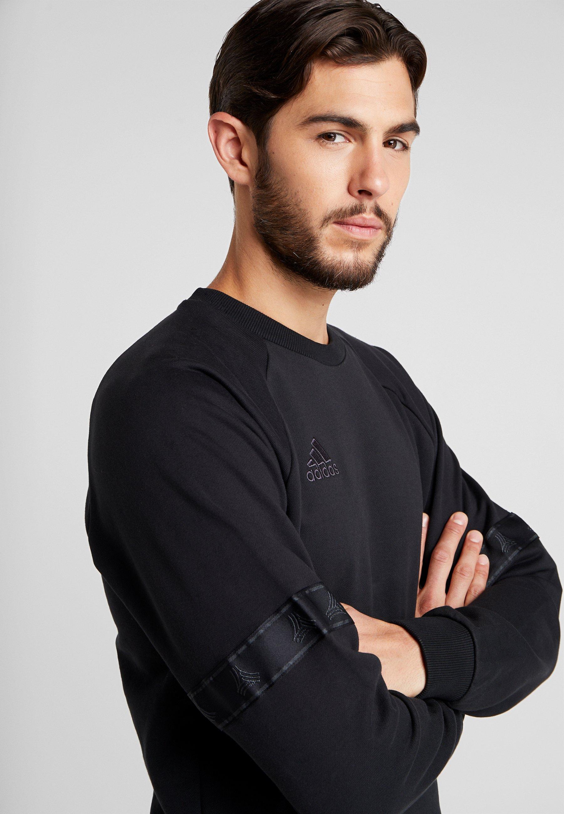 adidas Performance TAN CREW - Sweatshirt - black