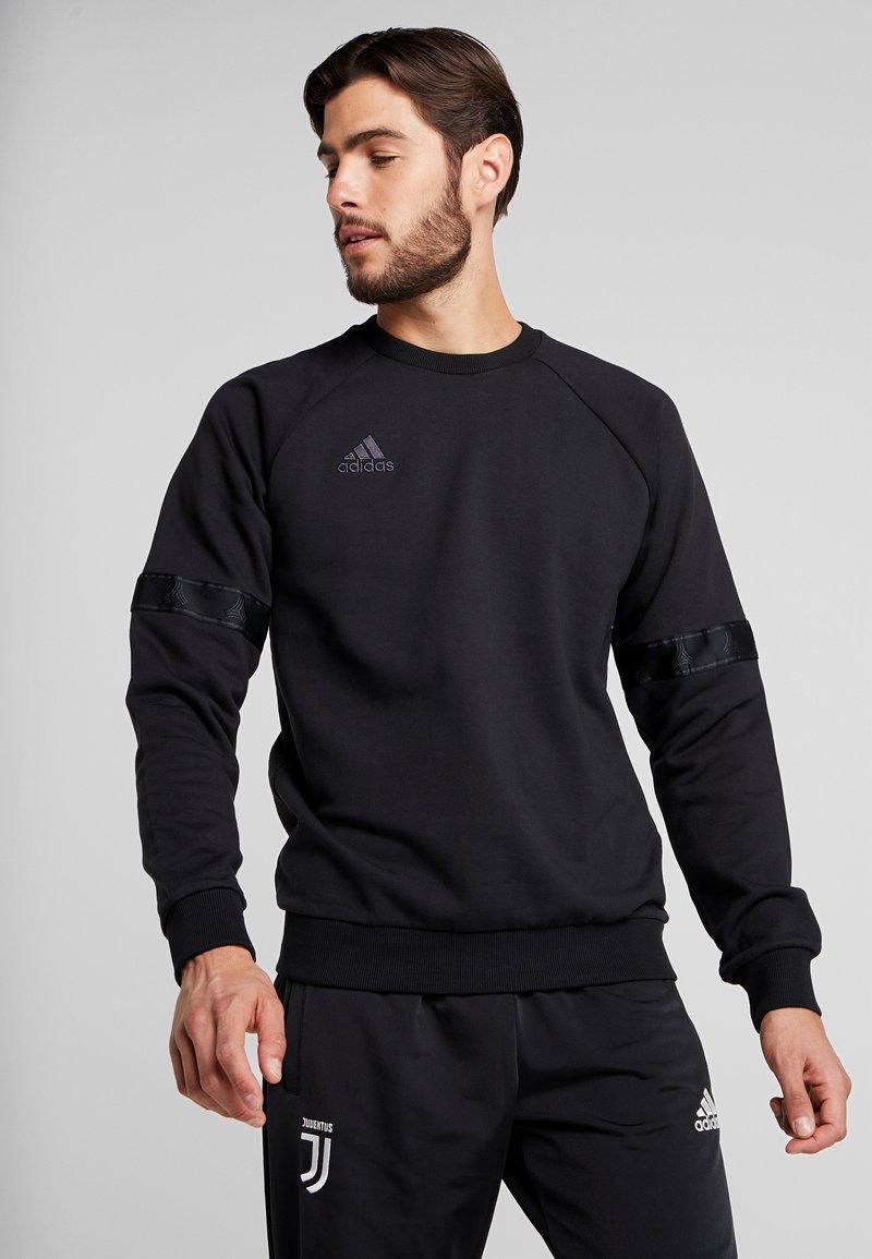 adidas Performance - TAN CREW - Sweatshirt - black