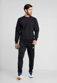 adidas Performance - TAN CREW - Sweatshirt - black - 1