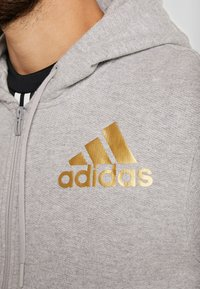 adidas Performance - SID - Huvtröja med dragkedja - medium grey heather - 6