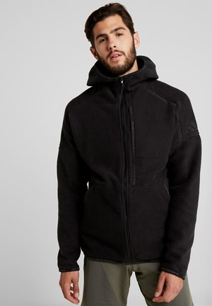 Fleecejacke - black
