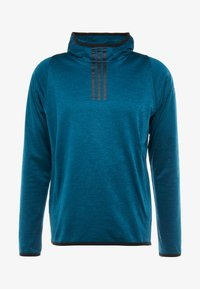 adidas Performance - WARM HOODIE - Mikina s kapucí - tech mint - 5