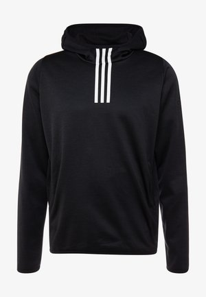 WARM HOODIE - Jersey con capucha - black