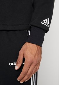 adidas Performance - VRCT CREW - Collegepaita - black/white - 4