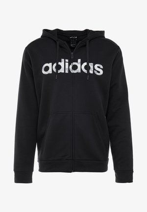 CAMO LIN - Sweatjacke - black/white/grey one