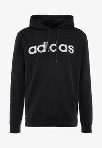 adidas Performance - CAMO LIN  - Bluza z kapturem - black/white - 4