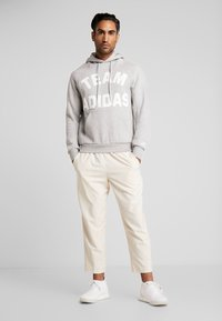 adidas Performance - VRCT HOODIE - Jersey con capucha - grey - 1