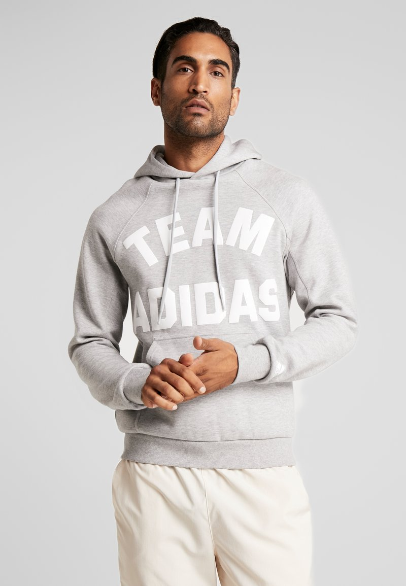 adidas Performance - VRCT HOODIE - Jersey con capucha - grey