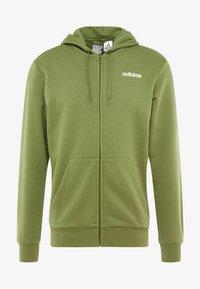 adidas Performance - veste en sweat zippée - tech olive - 4