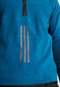 adidas Performance - POLAR - Fleece jumper - tech mineral - 5
