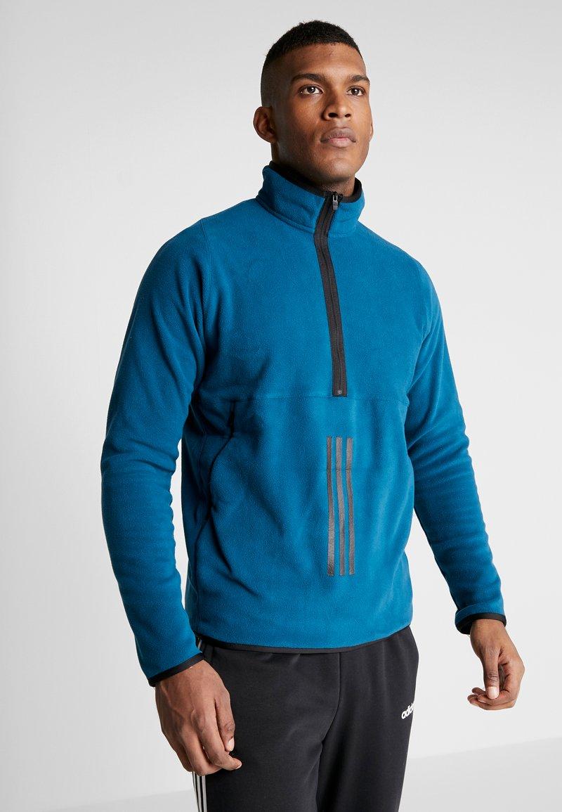 adidas Performance - POLAR - Fleece jumper - tech mineral