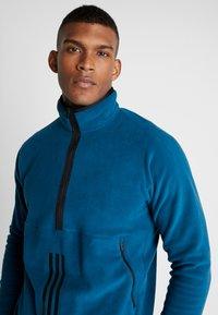 adidas Performance - POLAR - Fleece jumper - tech mineral - 4
