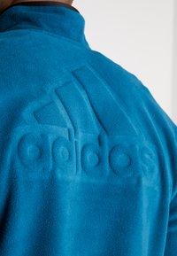 adidas Performance - POLAR - Fleece jumper - tech mineral - 3