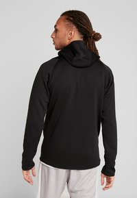 adidas Performance - WARM HOODIE - Sweatjacke - black - 2