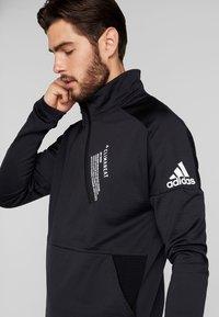adidas Performance - Sportshirt - black - 4