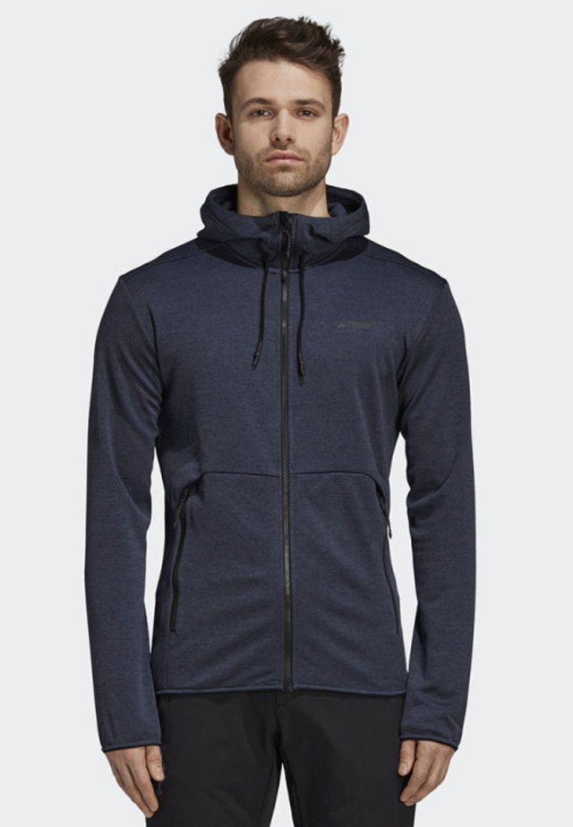 CLIMB THE CITY JACKET - Zip-up hoodie - blue