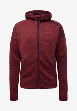ADIDAS Z.N.E. FAST RELEASE HOODIE - Zip-up hoodie - red