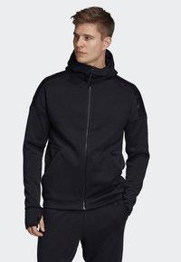 adidas Performance - ADIDAS Z.N.E. FAST RELEASE HOODIE - Zip-up hoodie - black - 0