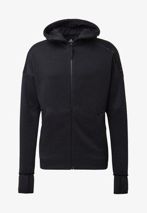 ADIDAS Z.N.E. FAST RELEASE HOODIE - Zip-up hoodie - black