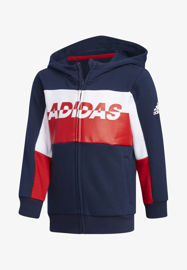 adidas Performance - FOOTBALL TRACK TOP - veste en sweat zippée - blue
