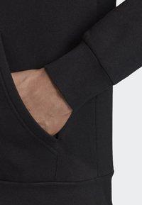 adidas Performance - LINEAR HOODIE - Veste de survêtement - black - 3