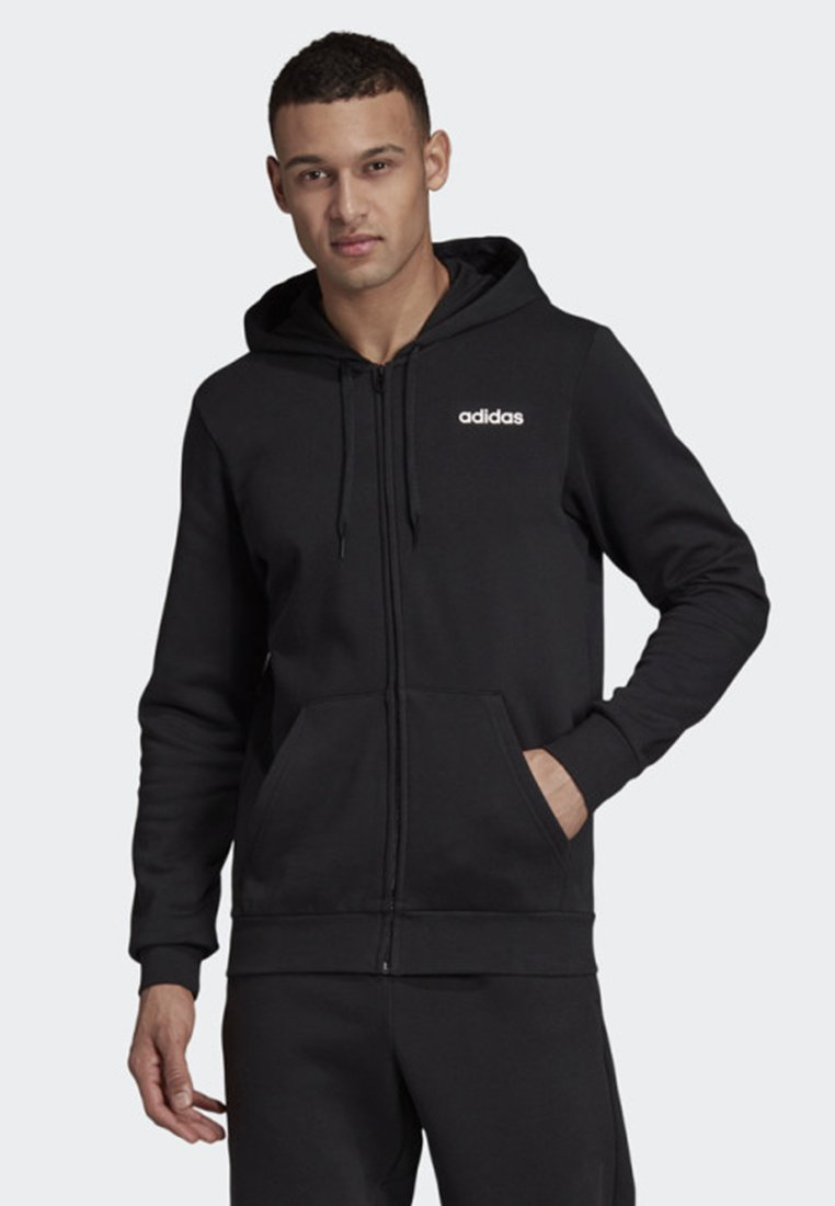 adidas Performance - LINEAR HOODIE - Training jacket - black