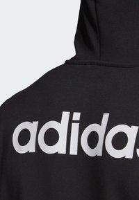 adidas Performance - LINEAR HOODIE - Veste de survêtement - black - 2