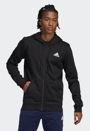 SPT B-BALL SWEATSHIRT - veste en sweat zippée - black